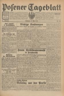 Posener Tageblatt. Jg.71, Nr. 106 (11 Mai 1932) + dod.