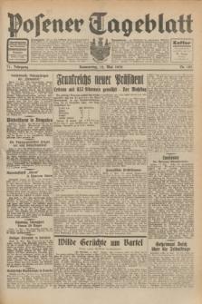 Posener Tageblatt. Jg.71, Nr. 107 (12 Mai 1932) + dod.