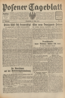 Posener Tageblatt. Jg.71, Nr. 125 (4 Juni 1932) + dod.