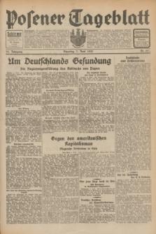 Posener Tageblatt. Jg.71, Nr. 127 (7 Juni 1932) + dod.