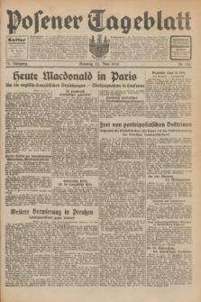 Posener Tageblatt. Jg.71, Nr. 132 (12 Juni 1932) + dod.