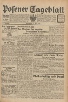 Posener Tageblatt. Jg.71, Nr. 160 (16 Juli 1932) + dod.