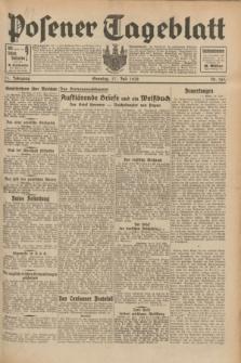 Posener Tageblatt. Jg.71, Nr. 161 (17 Juli 1932) + dod.