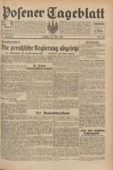 Posener Tageblatt. Jg.71, Nr. 165 (22 Juli 1932) + dod.