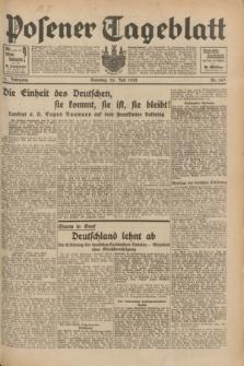 Posener Tageblatt. Jg.71, Nr. 167 (24 Juli 1932) + dod.