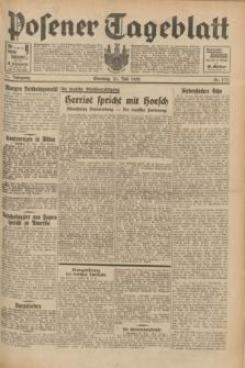 Posener Tageblatt. Jg.71, Nr. 173 (31 Juli 1932) + dod.