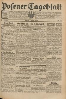 Posener Tageblatt. Jg.71, Nr. 177 (5 August 1932) + dod.
