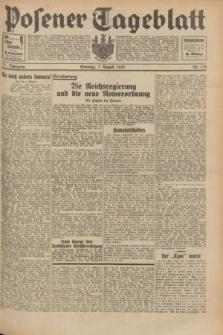 Posener Tageblatt. Jg.71, Nr. 179 (7 August 1932) + dod.
