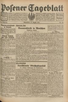 Posener Tageblatt. Jg.71, Nr. 195 (27 August 1932) + dod.