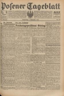 Posener Tageblatt. Jg.71, Nr. 199 (1 September 1932) + dod.