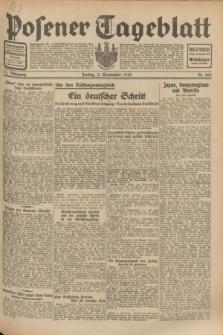 Posener Tageblatt. Jg.71, Nr. 200 (2 September 1932) + dod.