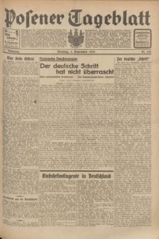 Posener Tageblatt. Jg.71, Nr. 202 (4 September 1932) + dod.