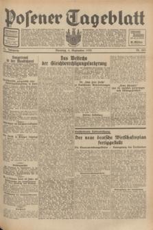 Posener Tageblatt. Jg.71, Nr. 203 (6 September 1932) + dod.