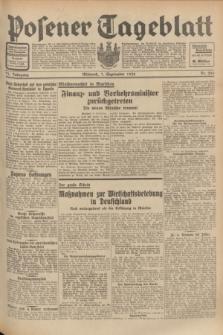 Posener Tageblatt. Jg.71, Nr. 204 (7 September 1932) + dod.