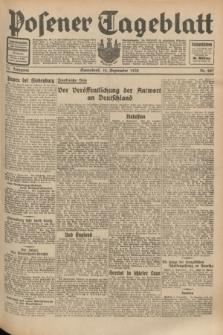 Posener Tageblatt. Jg.71, Nr. 207 (10 September 1932) + dod.