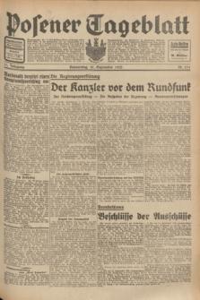 Posener Tageblatt. Jg.71, Nr. 211 (15 September 1932) + dod.