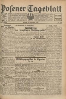 Posener Tageblatt. Jg.71, Nr. 212 (16 September 1932) + dod.
