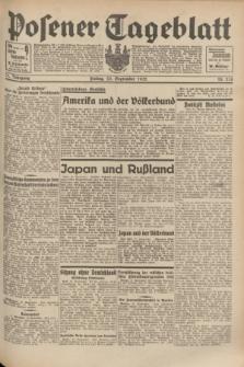 Posener Tageblatt. Jg.71, Nr. 218 (23 September 1932) + dod.