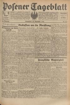 Posener Tageblatt. Jg.71, Nr. 219 (24 September 1932) + dod.