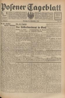Posener Tageblatt. Jg.71, Nr. 220 (25 September 1932) + dod.