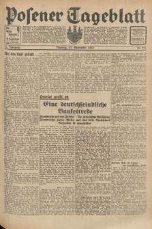 Posener Tageblatt. Jg.71, Nr. 221 (27 September 1932) + dod.