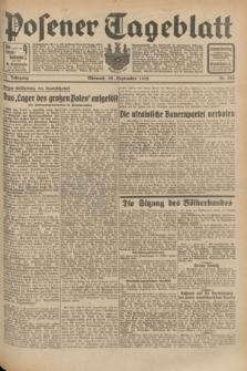 Posener Tageblatt. Jg.71, Nr. 222 (28 September 1932) + dod.