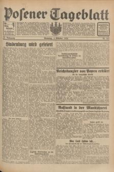 Posener Tageblatt. Jg.71, Nr. 227 (4 Oktober 1932) + dod.