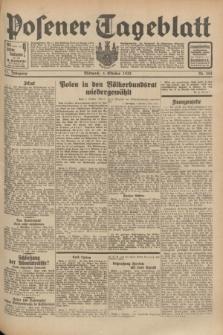 Posener Tageblatt. Jg.71, Nr. 228 (5 Oktober 1932) + dod.