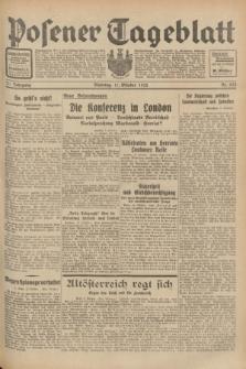 Posener Tageblatt. Jg.71, Nr. 233 (11 Oktober 1932) + dod.