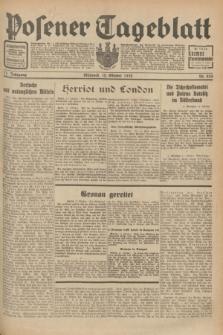 Posener Tageblatt. Jg.71, Nr. 234 (12 Oktober 1932) + dod.