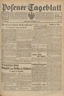 Posener Tageblatt. Jg.71, Nr. 235 (13 Oktober 1932) + dod.