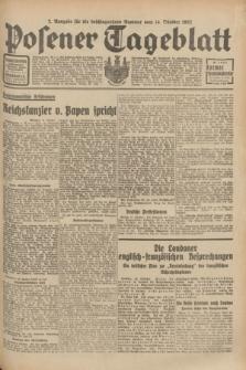 Posener Tageblatt. Jg.71, Nr. 236 (14 Oktober 1932) + dod.