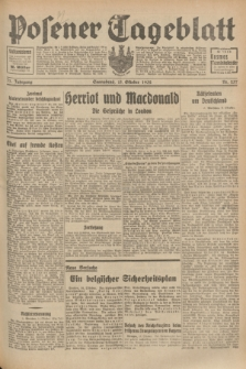 Posener Tageblatt. Jg.71, Nr. 237 (15 Oktober 1932) + dod.