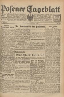 Posener Tageblatt. Jg.71, Nr. 241 (20 Oktober 1932) + dod.