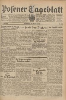 Posener Tageblatt. Jg.71, Nr. 243 (22 Oktober 1932) + dod.