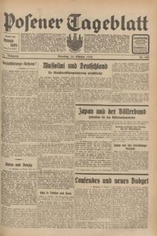 Posener Tageblatt. Jg.71, Nr. 245 (25 Oktober 1932) + dod.