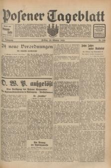 Posener Tageblatt. Jg.71, Nr. 248 (28 Oktober 1932) + dod.