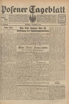 Posener Tageblatt. Jg.71, Nr. 255 (6 November 1932) + dod.