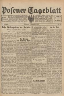Posener Tageblatt. Jg.71, Nr. 257 (9 November 1932) + dod.