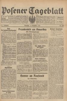 Posener Tageblatt. Jg.71, Nr. 262 (15 November 1932) + dod.