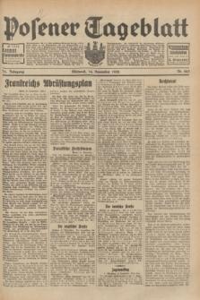 Posener Tageblatt. Jg.71, Nr. 263 (16 November 1932) + dod.