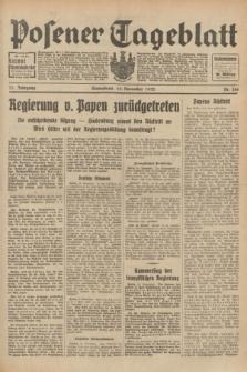 Posener Tageblatt. Jg.71, Nr. 266 (19 November 1932) + dod.