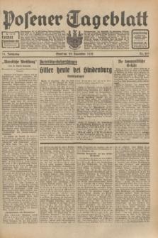 Posener Tageblatt. Jg.71, Nr. 267 (20 November 1932) + dod.