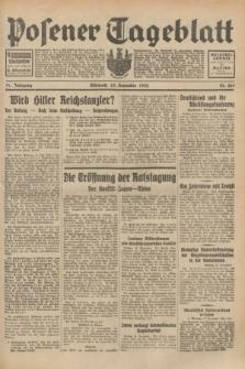 Posener Tageblatt. Jg.71, Nr. 269 (23 November 1932) + dod.