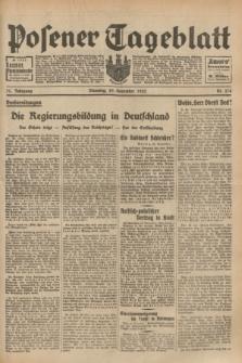 Posener Tageblatt. Jg.71, Nr. 274 (29 November 1932) + dod.
