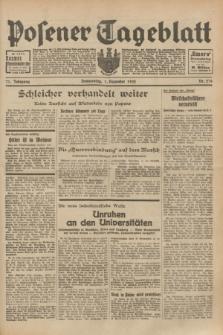 Posener Tageblatt. Jg.71, Nr. 276 (1 Dezember 1932) + dod.