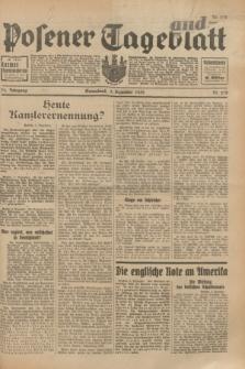 Posener Tageblatt. Jg.71, Nr. 278 (3 Dezember 1932) + dod.