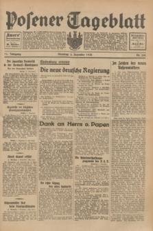 Posener Tageblatt. Jg.71, Nr. 280 (6 Dezember 1932) + dod.