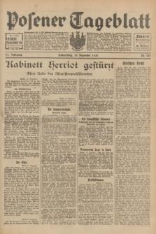Posener Tageblatt. Jg.71, Nr. 287 (15 Dezember 1932) + dod.