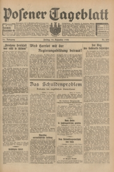 Posener Tageblatt. Jg.71, Nr. 288 (16 Dezember 1932) + dod.